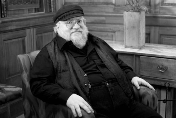 Author George RR Martin. Photo: Karolina Webb