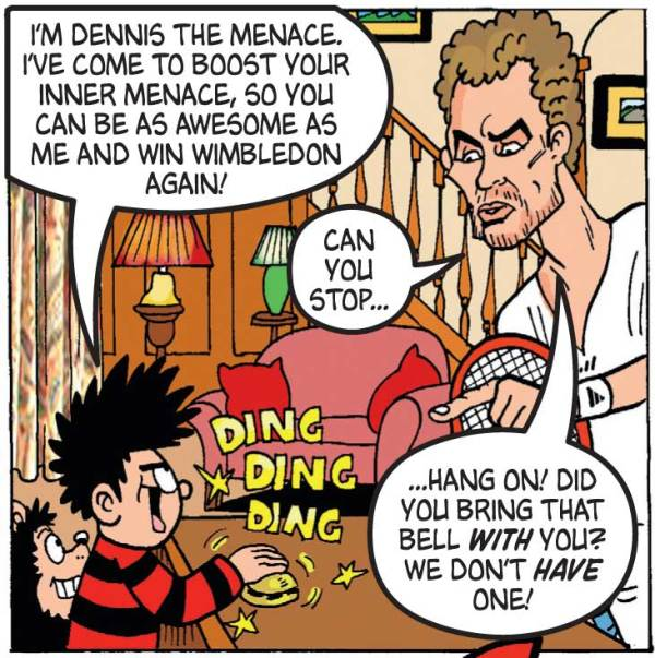 The Beano, 25th June 2014 - Dennis the Menace