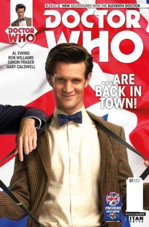 Doctor Who #1 - Eleventh Doctor: Photo Variant