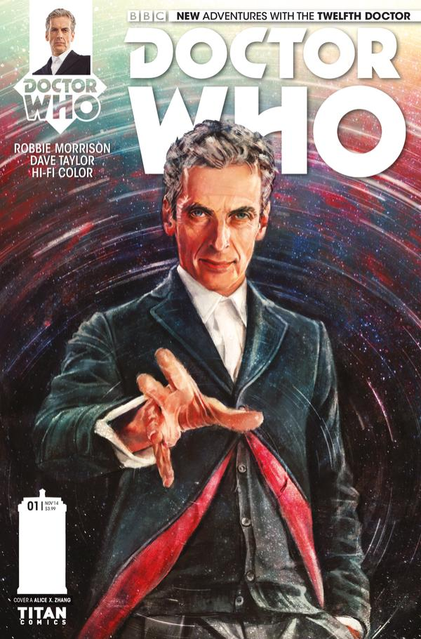 Doctor Who: Twelfth Doctor #1 Cover A
