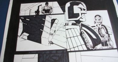 Judge Dredd by Colin MacNeil