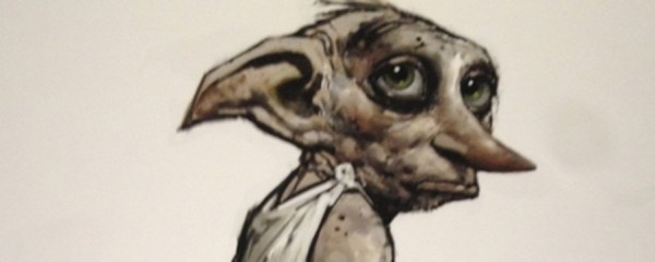 """Dobby"" from the Harry Potter films, by Rob Bliss"