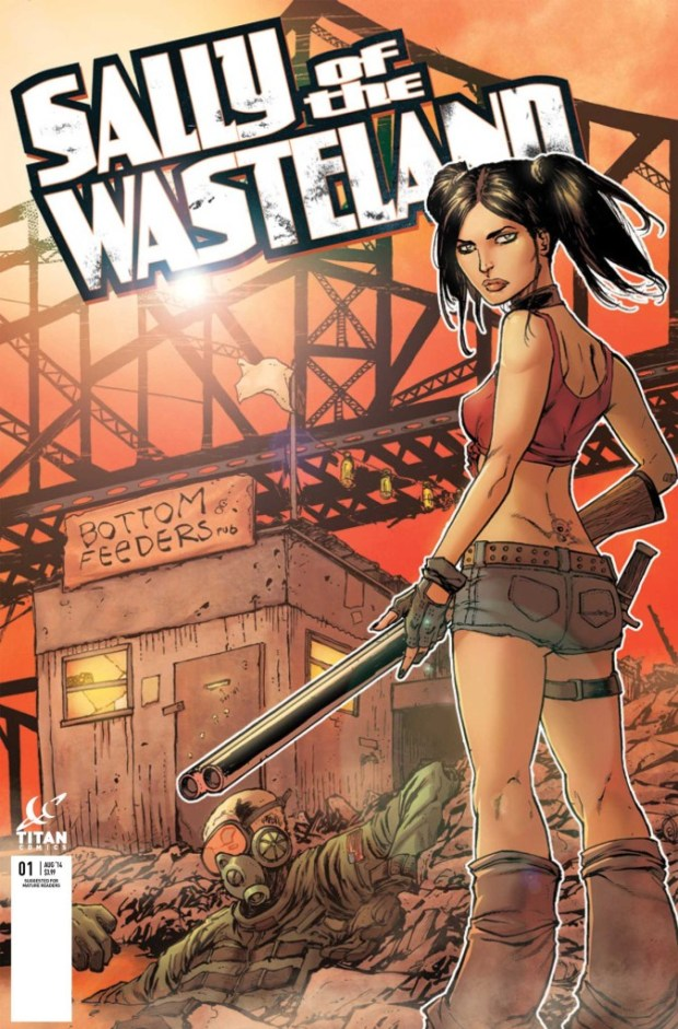 Sally Of The Wasteland #1 - Variant Cover