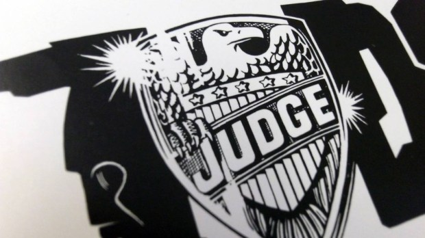 Original Judge Dredd Logo