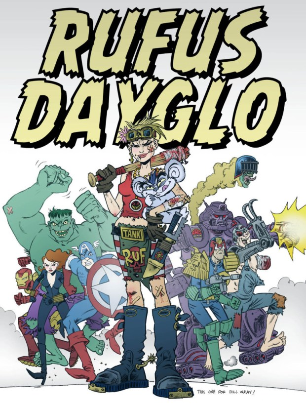 Rufus Dayglo: Promotional Art
