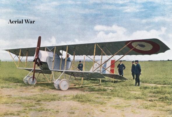 A World War One British aeroplane