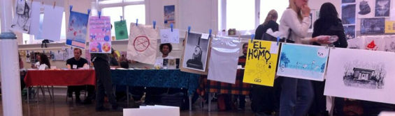 Zine makers gathered for the first TAKEOVER organised by Alternative Press back in May, attracting 1500 visitors.