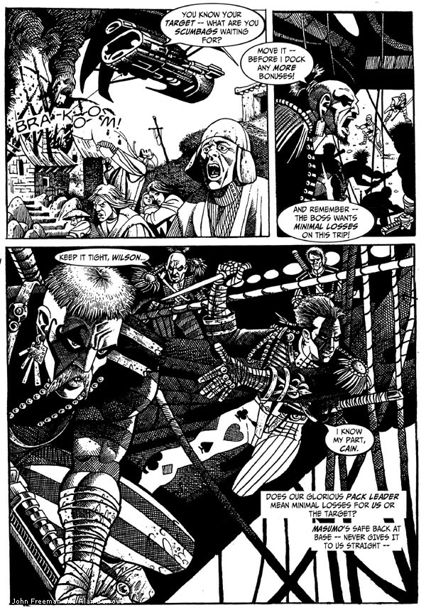 Death Duty Episode One - Page Two
