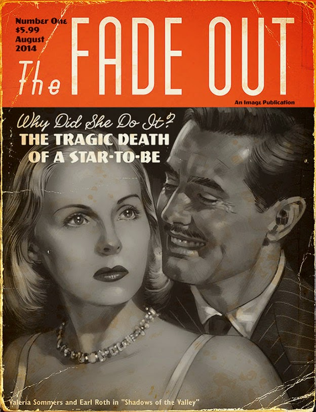 Fade Out #1 - Magazine Variant Cover
