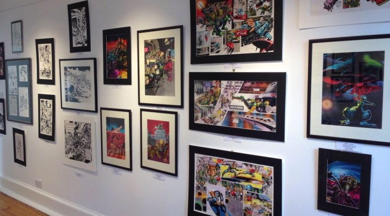 Orkney Comic Art Exhibition - 2014. Photo: Peter Rowe