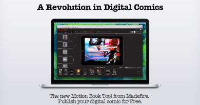 Madefire Motion Book Tool