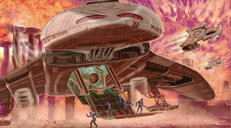 Concept art for Firestorm © Anderson Entertainment