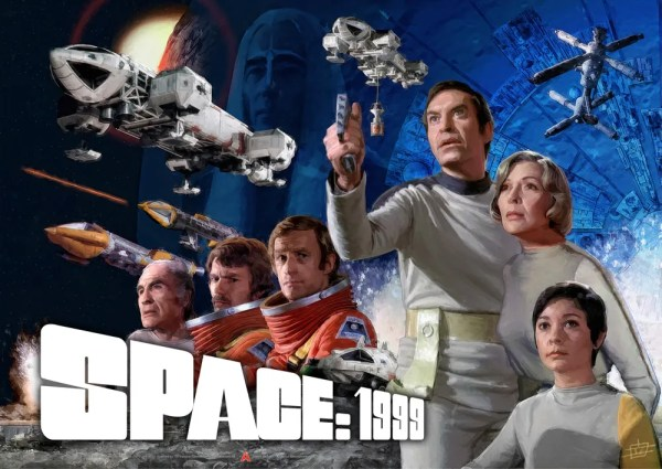 Space 1999 Season One Poster. Image courtesy Anderson Entertainment
