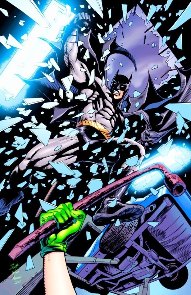 Batman art by Steve Scott