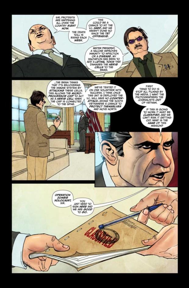 Vampire Zombie Holocaust #1 Page 3