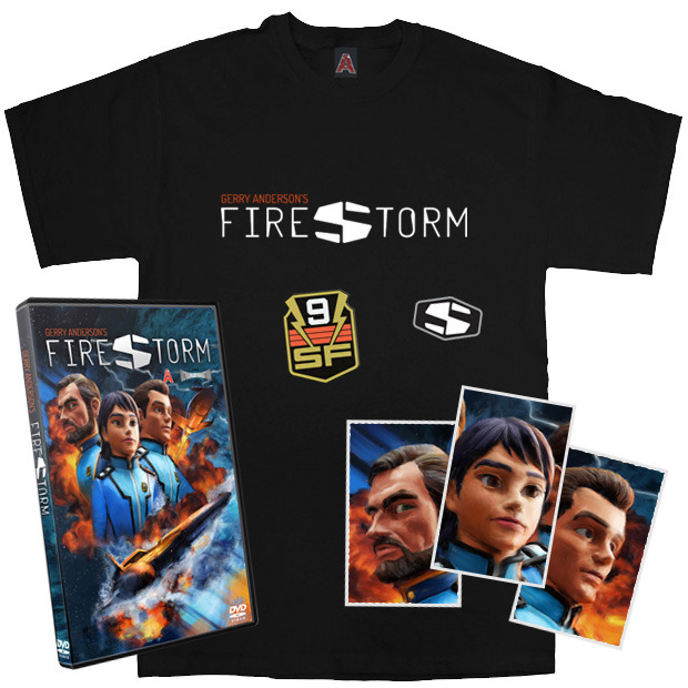 A selection of some of the Firestorm rewards on offer for backing the project.