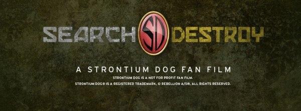 Strontium Dog Fan Film Promotional Image