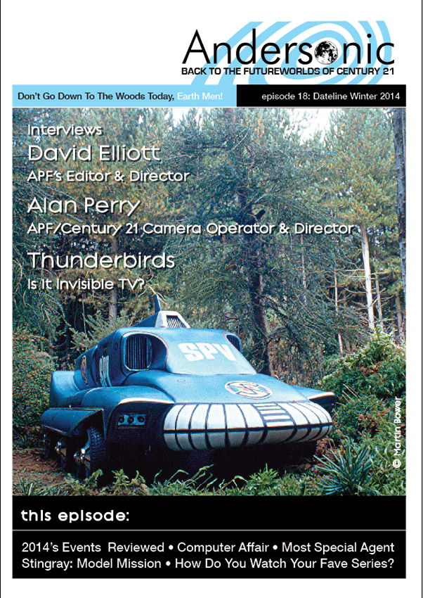 Andersonic Issue 18 Cover