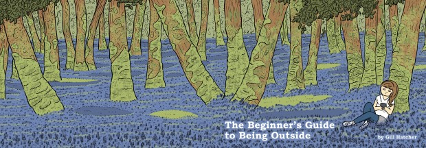 The Beginner's Guide to Being Outside - Cover