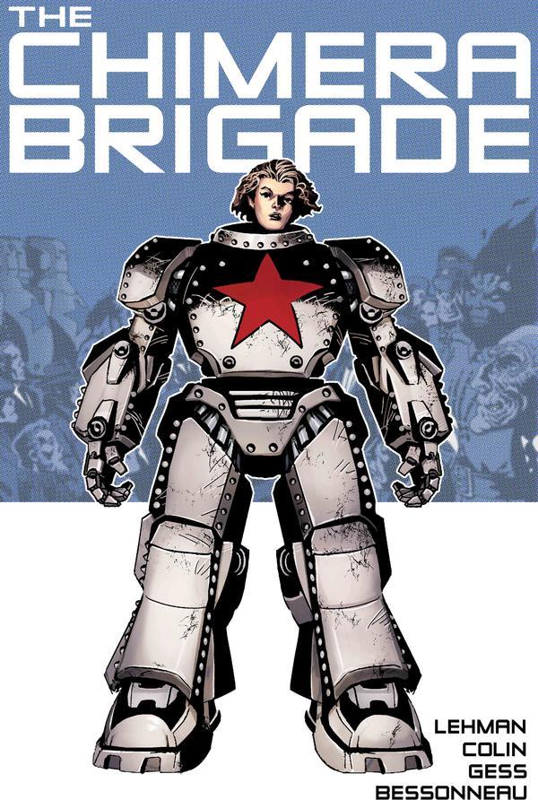 Chimera Brigade Volume 1 Cover