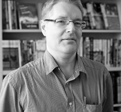 Darryl Cunningham. Photo © Josh Jones