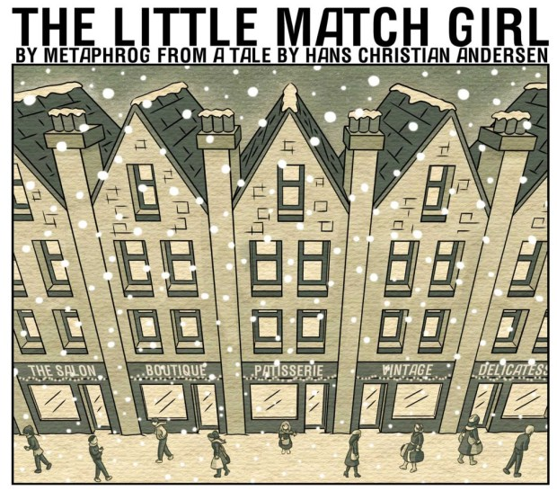 The Little Match Girl by Metaphrog