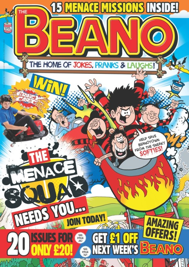 The Beano - Daily Mirror Giveaway 2014