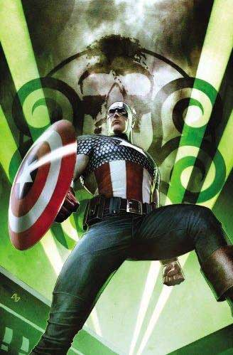 Captain America: Hail Hydra #1. Art by Adi Granov. © Marvel