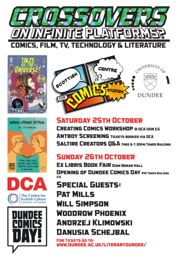 Dundee Comics Day 2014