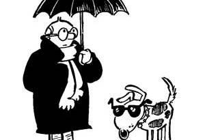 Really Heavy Greatcoat: John With Umbrella