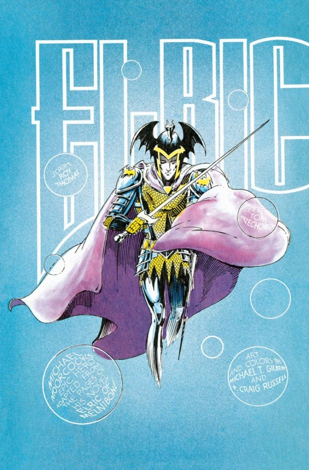 Volume 1 Elric Of Melnibone Preview