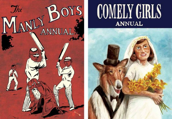 Manly Boys and Comely Girls - Covers