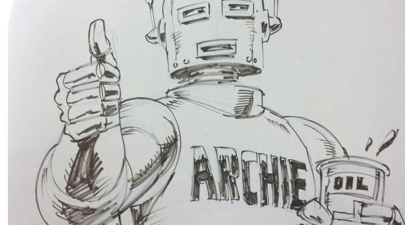 Robot Archie by Dave Gibbons