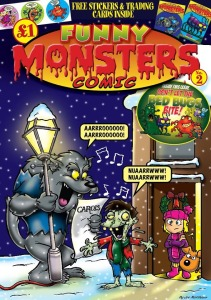 Funny Monsters Comic Issue 2