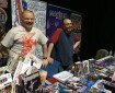 Futurequake Press were at Thought Bubble in force. Pictured are Dave Evans and Richmond Clements. Photo: Antony Esmond.