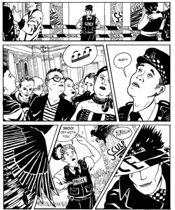 Blind Detective Blake – Oeuvre - Sample Page