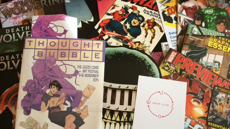 Photo Report: Thought Bubble 2014