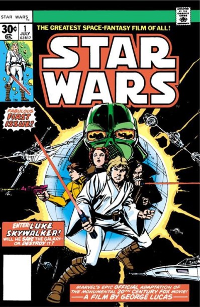 How Marvel brought Star Wars to comics back in 1977.