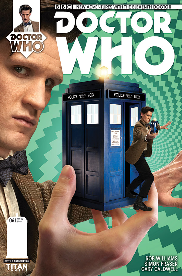 Doctor Who: Eleventh Doctor # 6 - Cover B