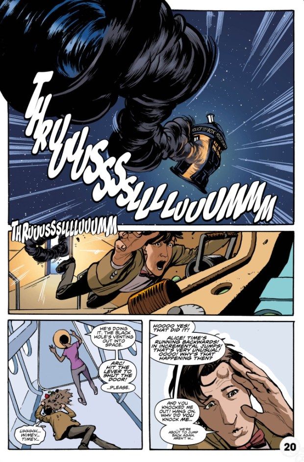 Doctor Who: Eleventh Doctor # 6 Preview 3
