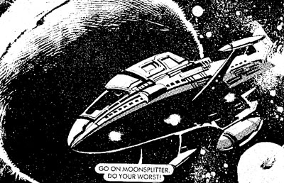 Starblazer Issue 50 - Interior A
