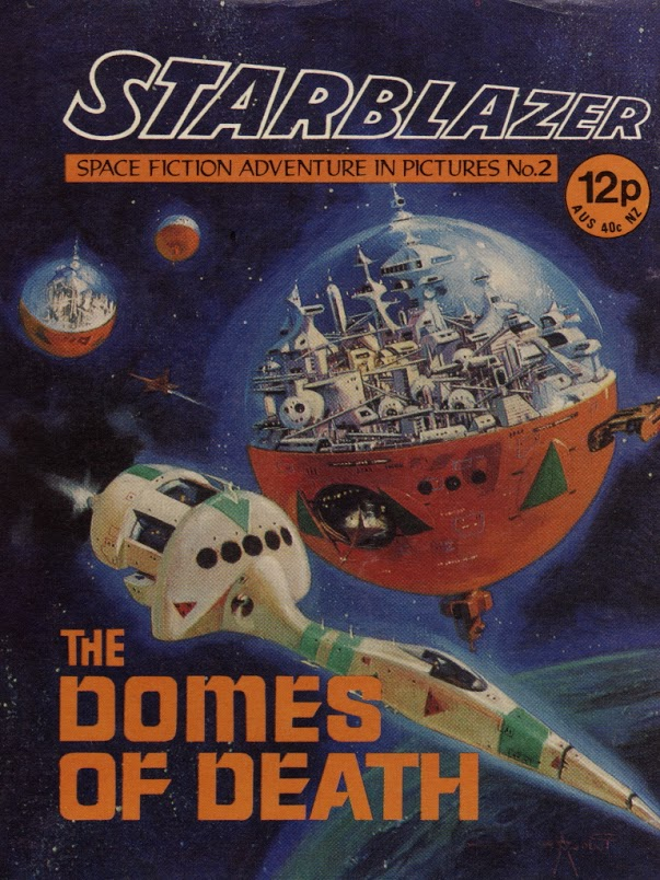 Starblazer No. 2: The Domes of Death
