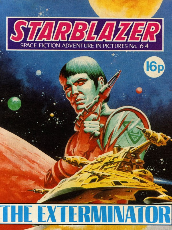 Starblazer Issue 64 - Cover