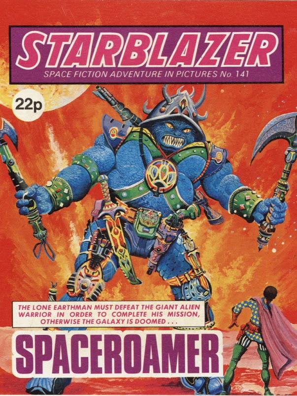 Starblazer 141 - Cover