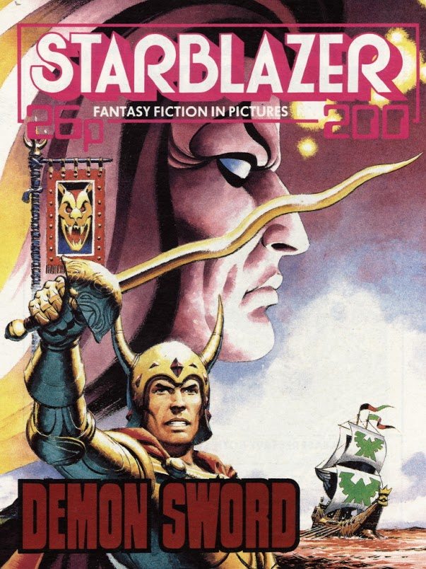 Starblazer Issue 200 - Cover