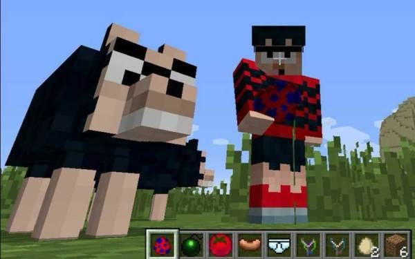 Beano meets Minecraft. Image courtesy DC Thomson/Frima Studios