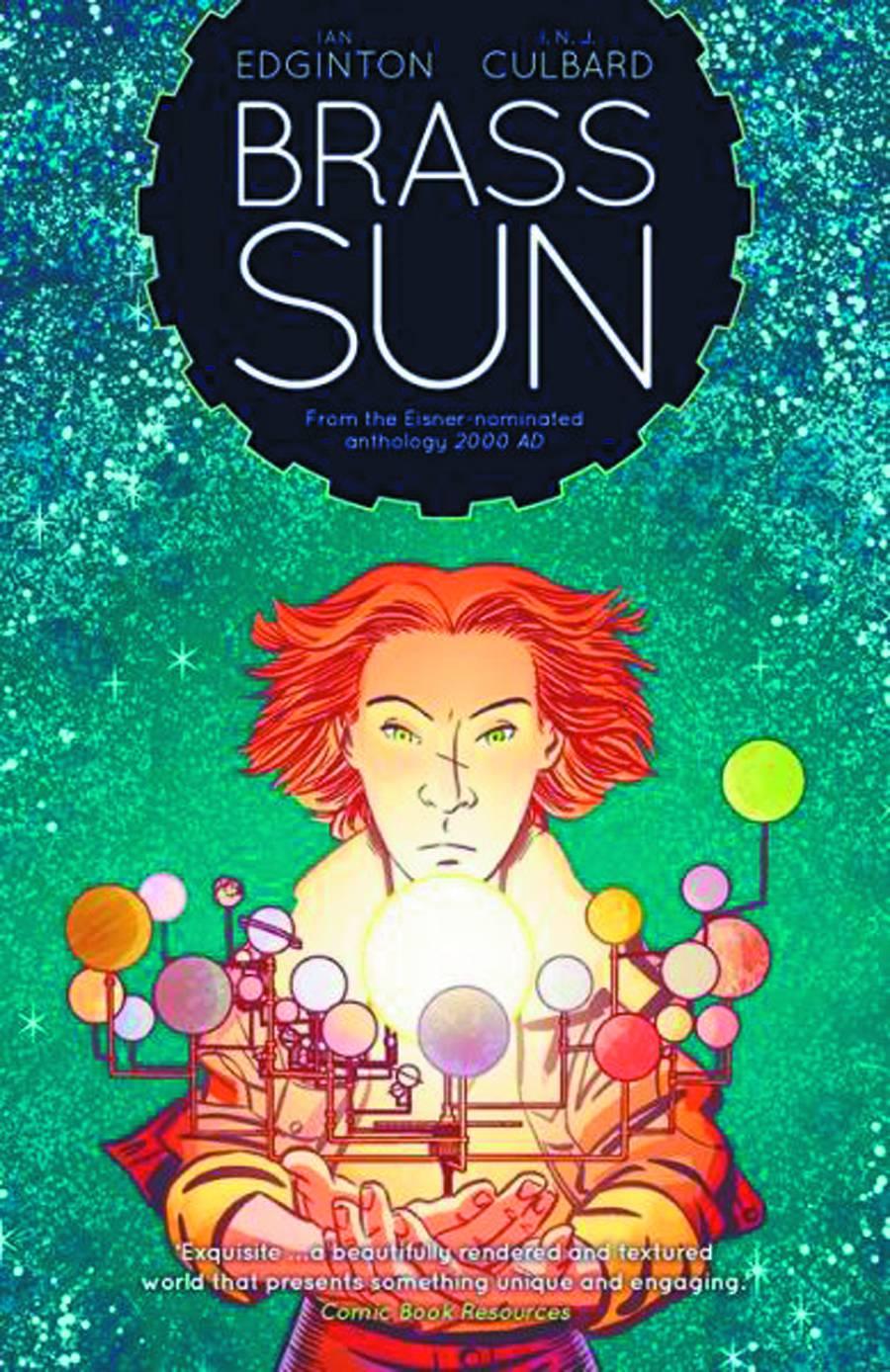 Ian Edginton signing Brass Sun at Forbidden Planet