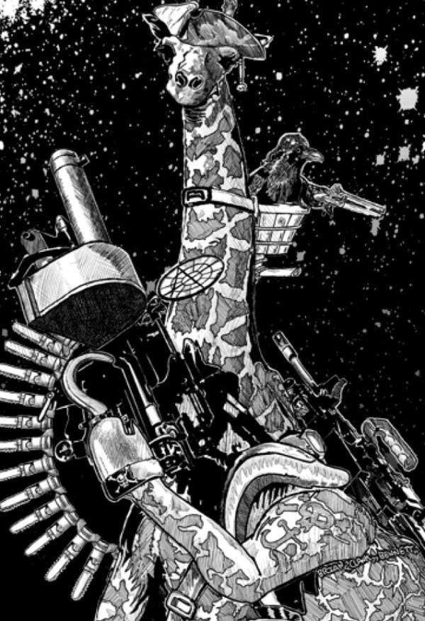 Cogs & Claws - Space Giraffe