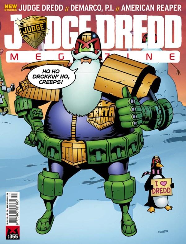 Judge Dredd Megazine 355