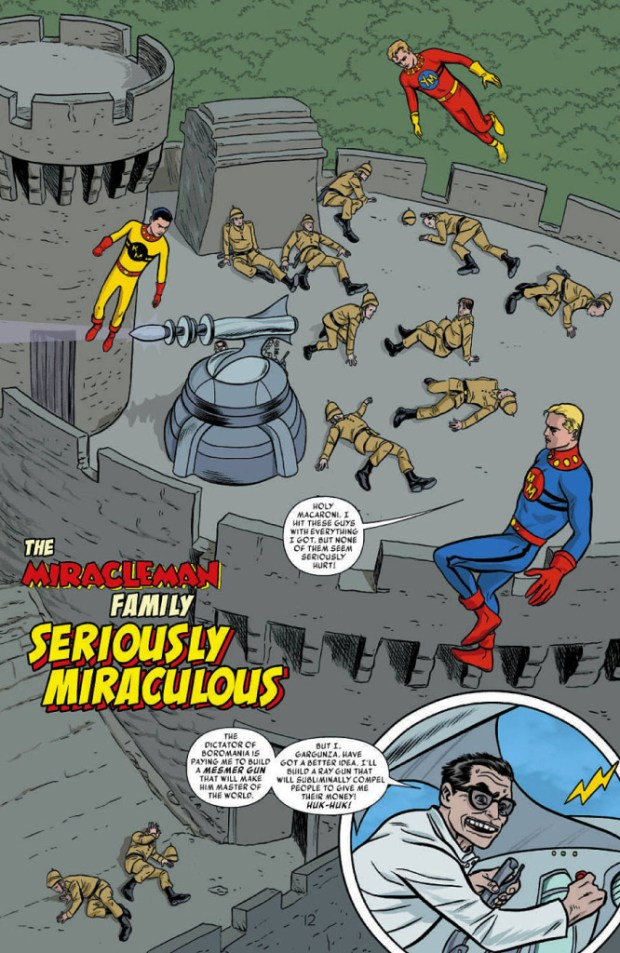Miracleman Annual #1 - Preview Page